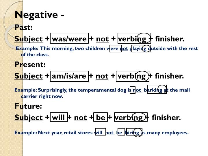 Negative -