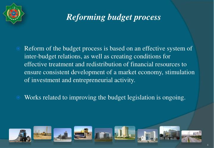 Reforming budget process