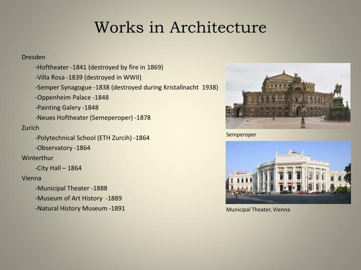 Ppt Gottfried Semper Powerpoint Presentation Id 2496788