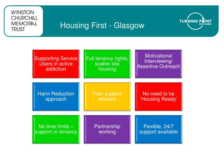 Housing First - Glasgow