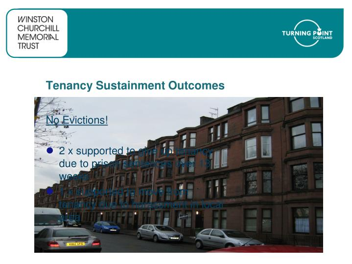 Tenancy Sustainment Outcomes
