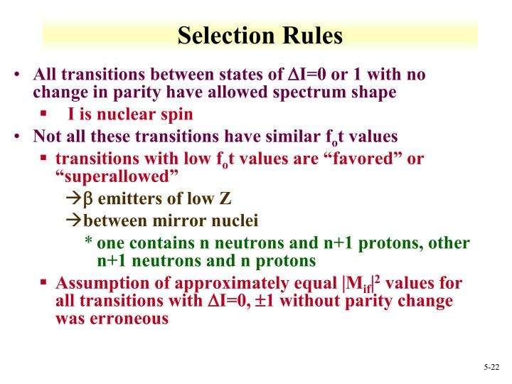 All transitions between states of