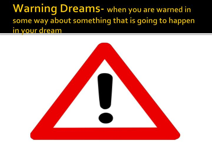 Warning Dreams-