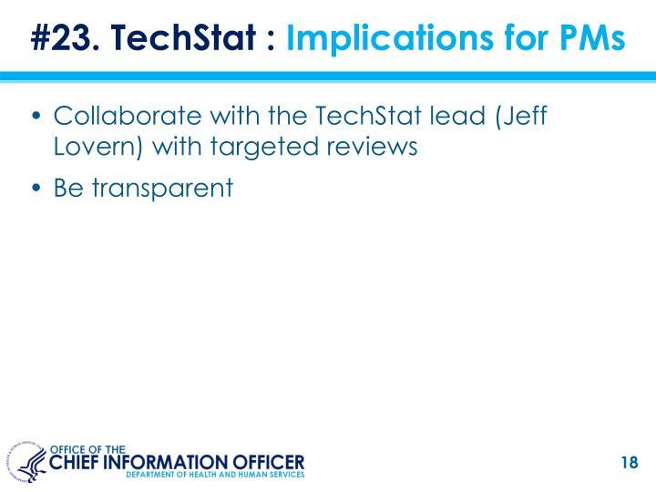 #23. TechStat :