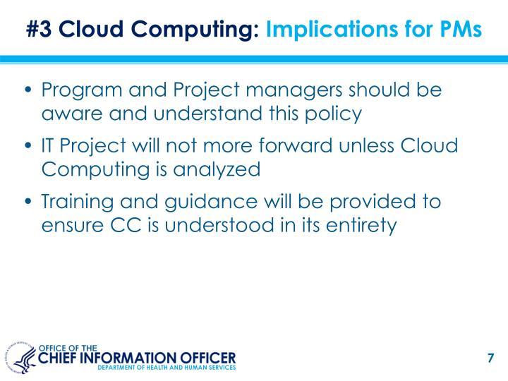 #3 Cloud Computing: