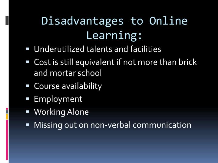disadvantages of missing school When kids miss school, not only is their academic progress impeded, forcing  them to  huge problem in australian schools—and  at a distinct disadvantage.