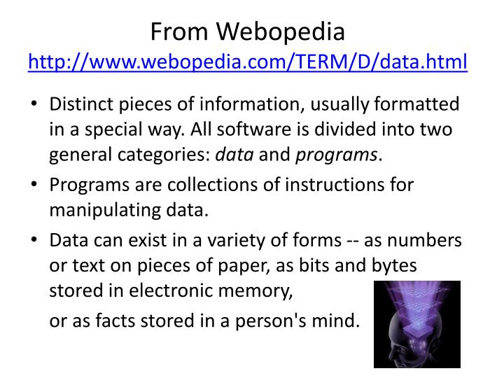 From Webopedia