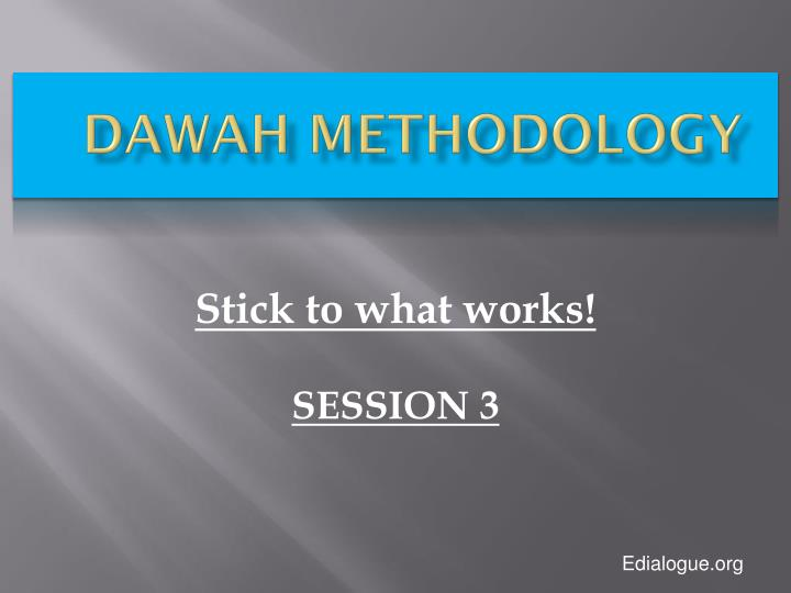 Dawah methodology