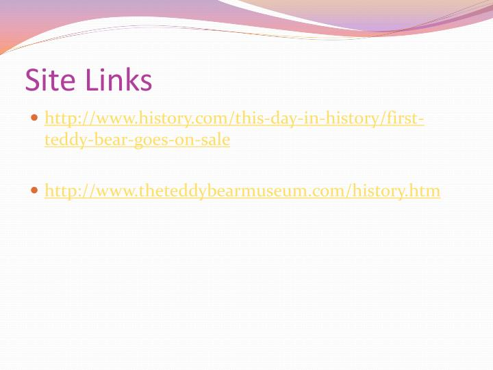 Site Links