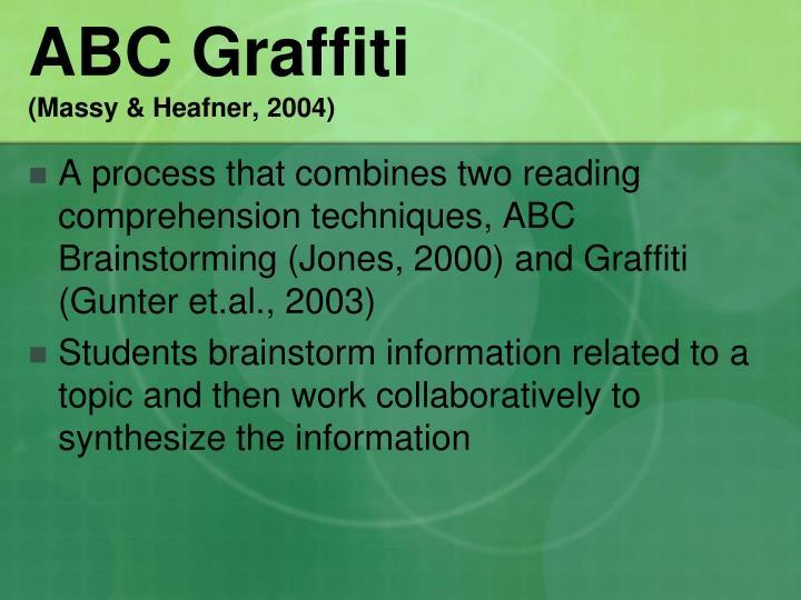 ABC Graffiti