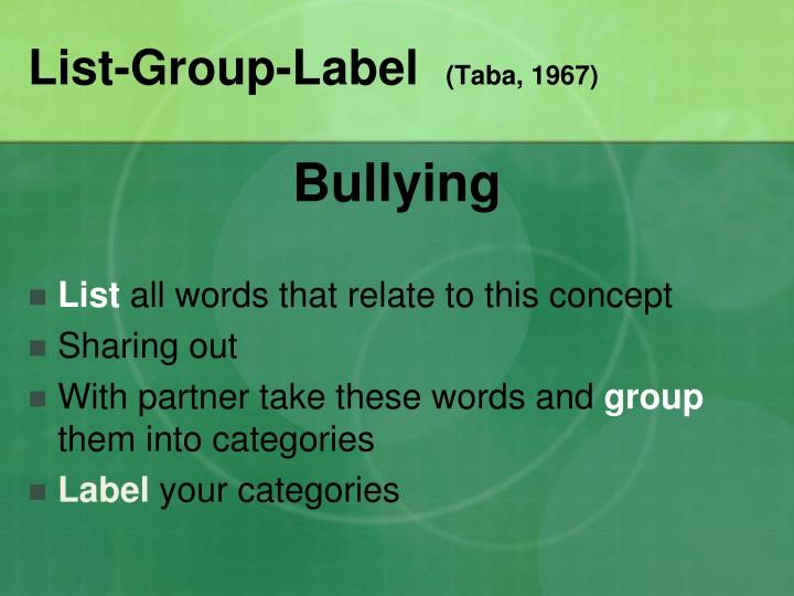 List-Group-Label