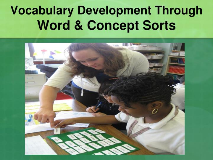 Vocabulary Development Through