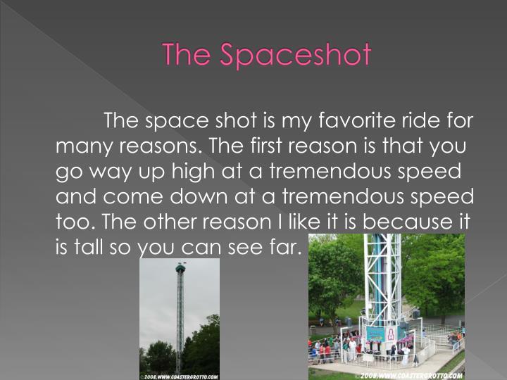 The Spaceshot