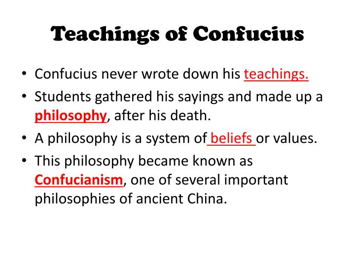 the life and teachings of confucius The teachings of confucius has 65 ratings and 2 reviews liesel said: as this is an ancient book, it's a bit difficult to read and understand without res.