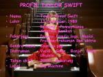 profil taylor swift