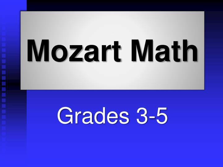 Mozart Math