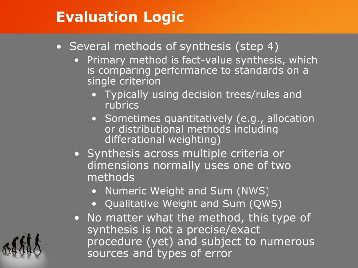 Evaluation Logic