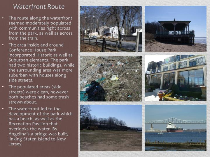 Waterfront Route