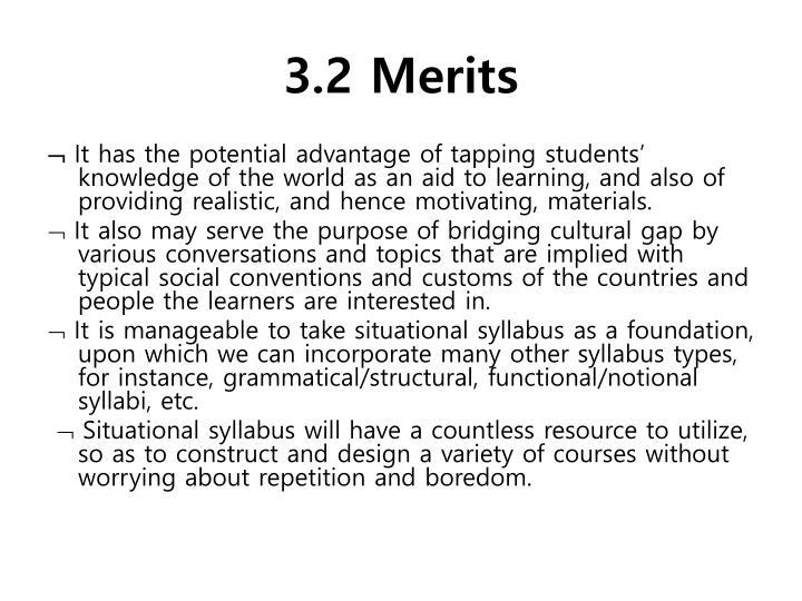 3.2 Merits