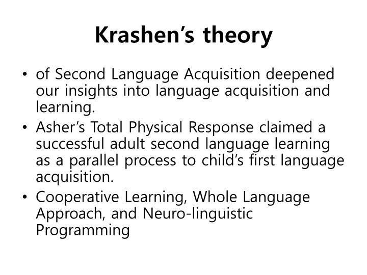 Krashen's