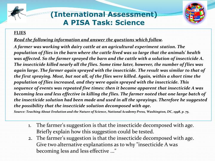 (International Assessment)