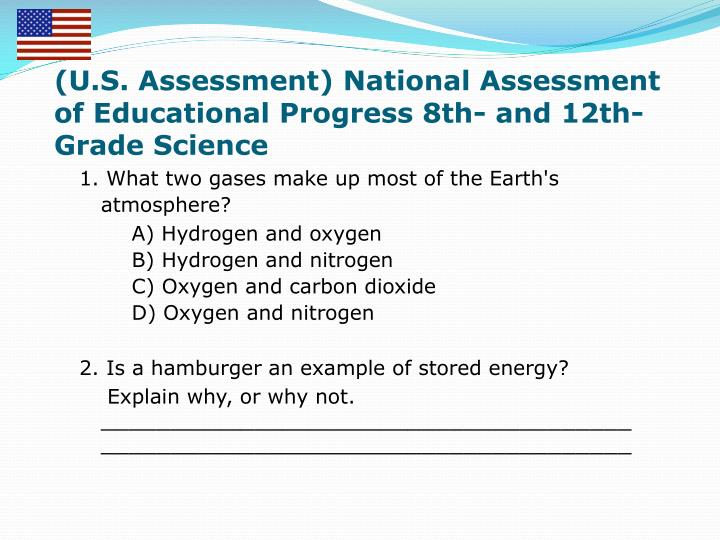 (U.S. Assessment) National Assessment of Educational Progress