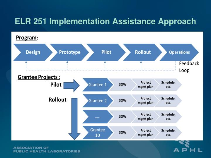 ELR 251 Implementation Assistance Approach