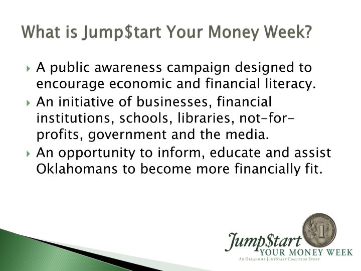 What is Jump$tart Your Money Week?