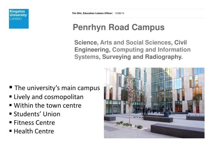 Penrhyn Road Campus