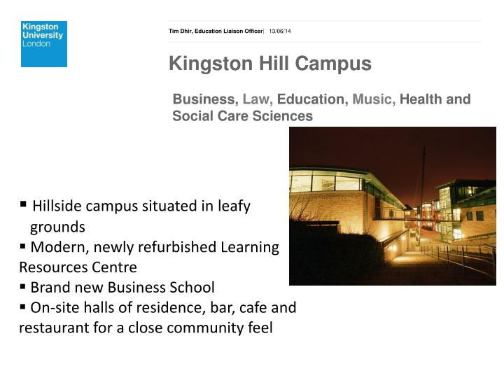 Kingston Hill Campus