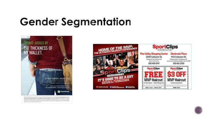 Gender Segmentation