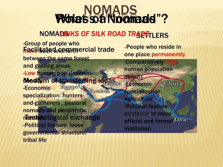 "What s a ""nomad""?"
