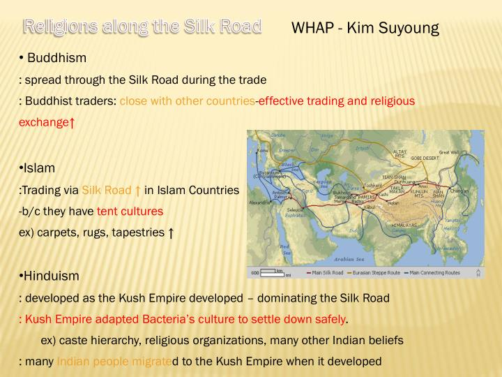 Religions along the Silk Road