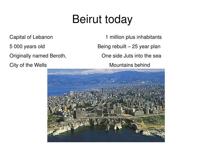 Beirut today