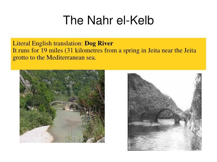 The Nahr el-Kelb