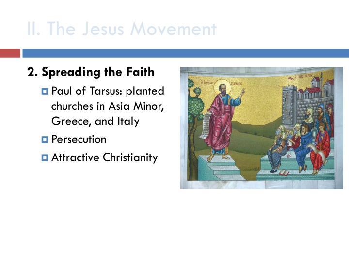 II. The Jesus Movement
