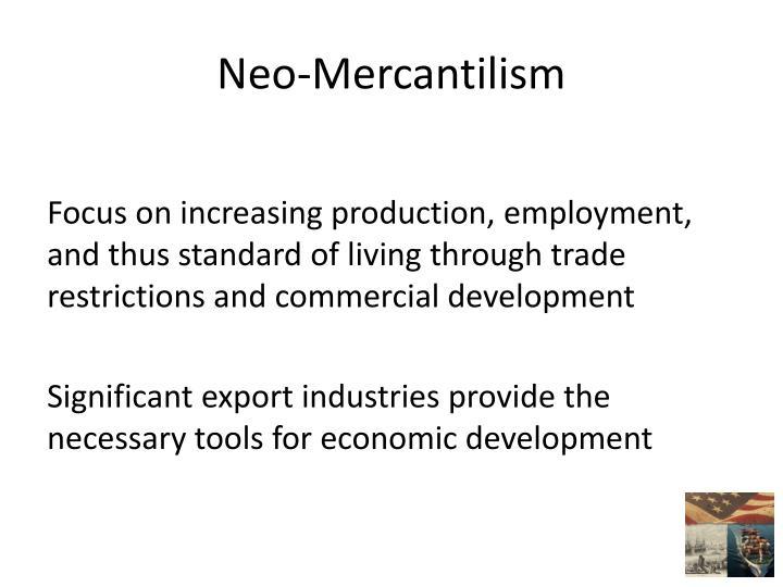 Neo-Mercantilism