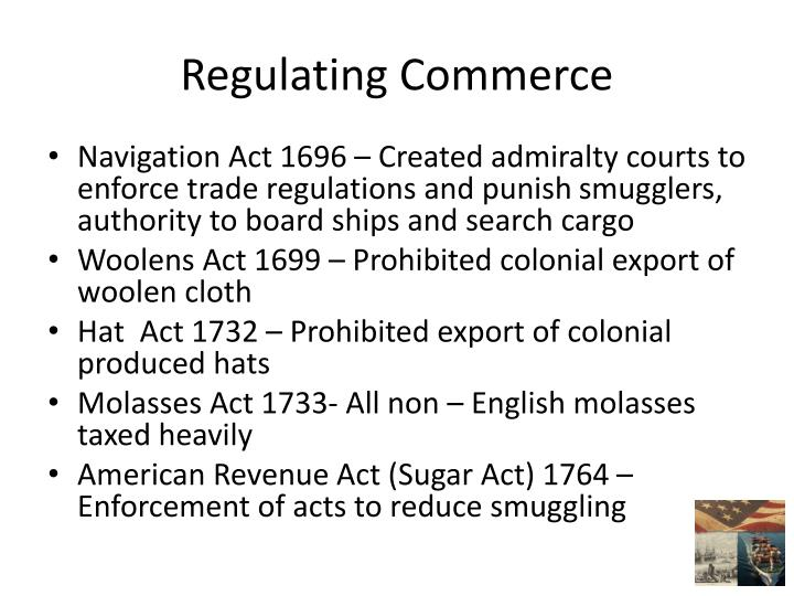 Regulating Commerce