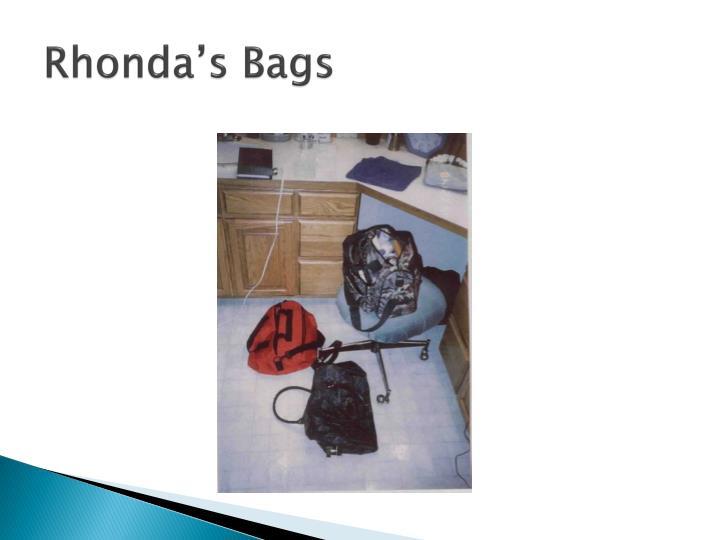Rhonda's Bags
