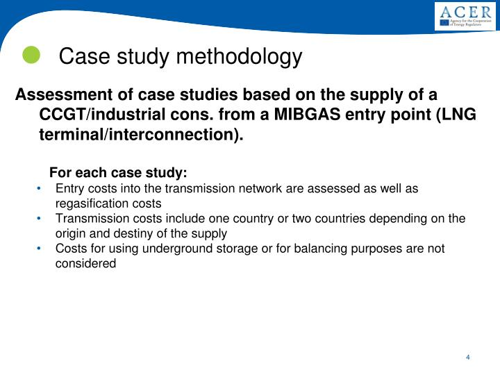 Assessment of case studies based on the supply of a CCGT/industrial cons. from a MIBGAS entry point (LNG terminal/interconnection).