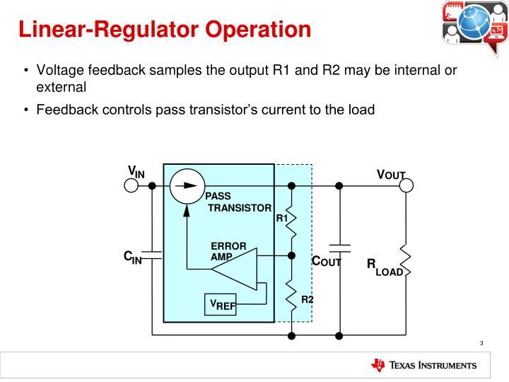 Linear-Regulator Operation