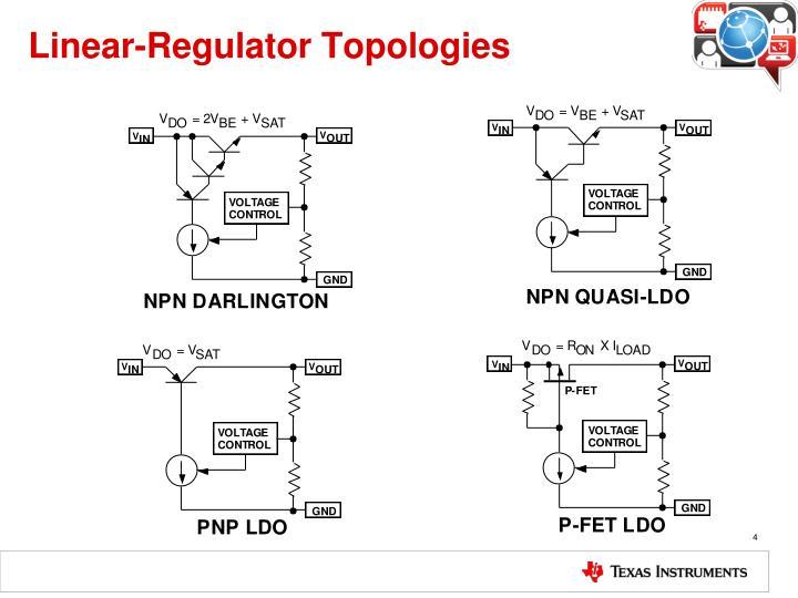 Linear-Regulator Topologies