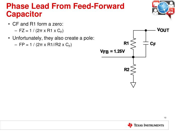 Phase Lead From Feed-Forward