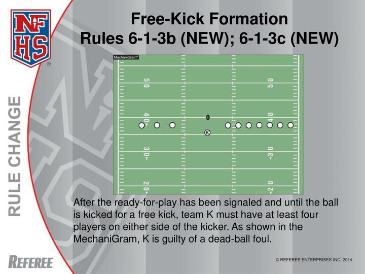 Free-Kick Formation