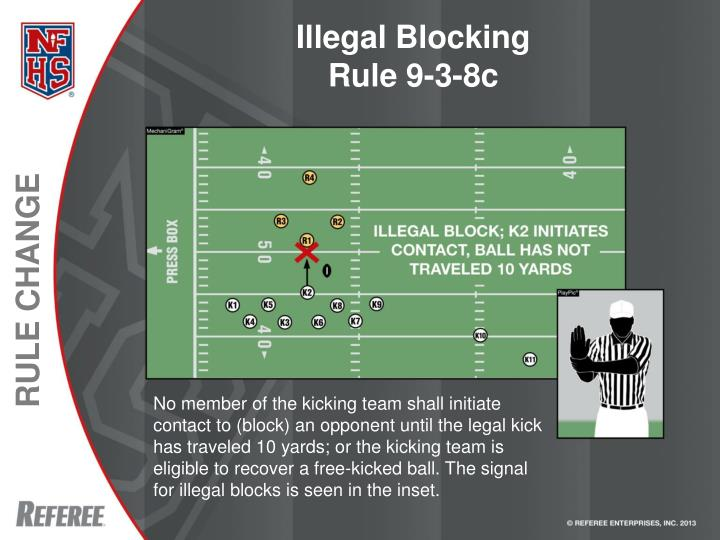 Illegal Blocking