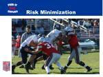 risk minimization1