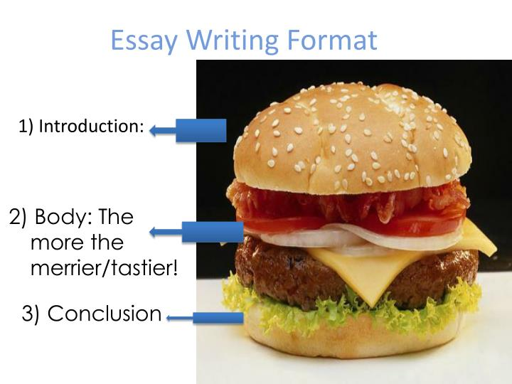 Essay writing format