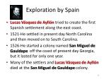 exploration by spain1