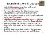 spanish missions in georgia