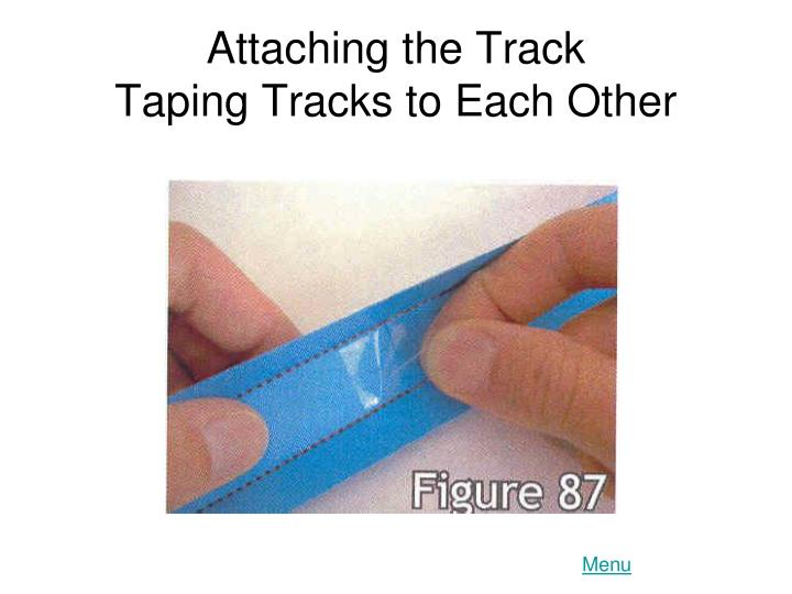 Attaching the Track
